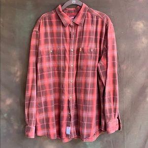 Levi's 100% cotton plaid shirt